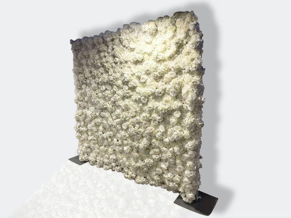 White Flower Wall (Hire)