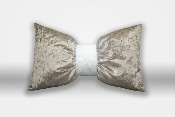 Mink Bow Cushion