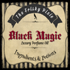 BLACK MAGIC Luxury Perfume Oil- Oak Barrel Cider, Bourbon, Cranberry, Vanilla, Amber