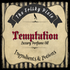 TEMPTATION Luxury Perfume Oil- Bourbon Vanilla, Amber, Pumpkin