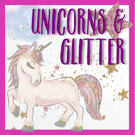UNICORNS & GLITTER Luxury Perfume Oil- French Vanilla, Strawberry Buttercream, Sugar Cookie