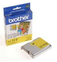 Cartucho Brother Amarillo LC51Y