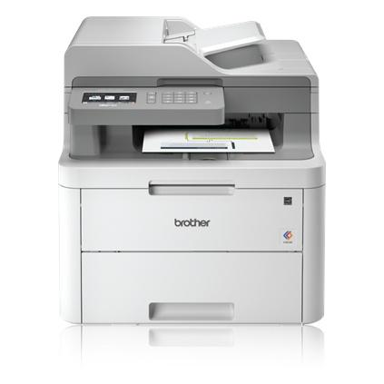Multifuncional Brother MFC-L3710CW, Color, LED, Inalámbrico, Print/Scan/Copy/Fax/MFC-L3710CW