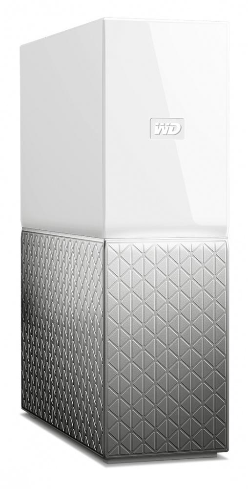 Western Digital WD My Cloud Home Single Drive, 3TB, USB 3.0, Gris/Blanco - para Mac/PC/Windows/iOS