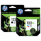 Combo de Cartuchos HP 122 XL  Tinta (Negro + Tri-Color), Tinta Original HP, Deskjet/ HP122XL-KIT