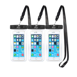 10L + 20L AiRunTech with 2 Pack Waterproof Cell Phone Bag 4 Pack Waterproof Dry Bag