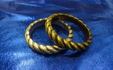Twisted Rope Bangle