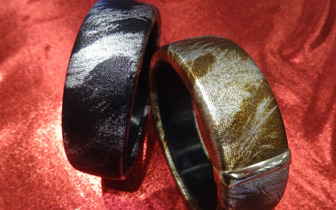 Satin Covered Bangle
