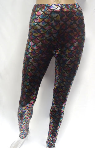 Rainbow Scale Leggings