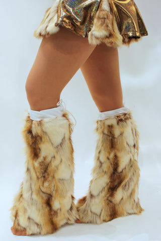 Fur Leg Warmers (High-End Naturals)