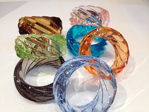 Giant Plexiglass Bangle