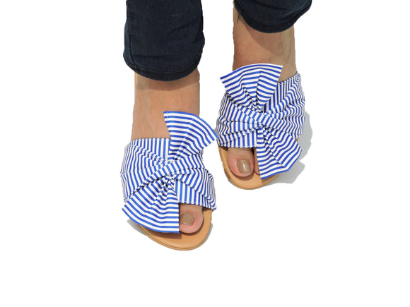 BESTSELLER BOW NAUTICAL SLIDE - BLUE