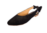 SLINGBACK BOW - BLACK