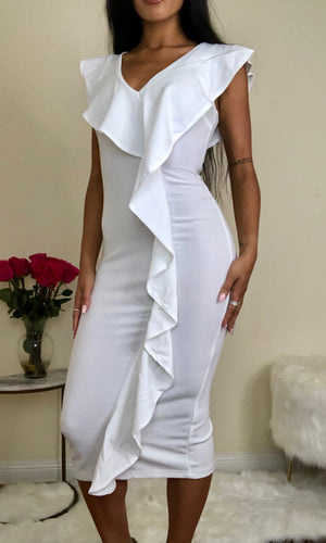 Breana Midi Dress - Shop Taylor Boutique
