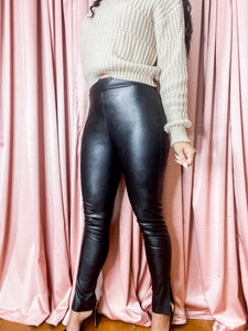 Noelia Leather Pants