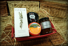 Twin Truckle Cheese Hamper