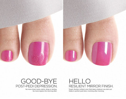 20% Off Shellac or Vinylux Pedicure