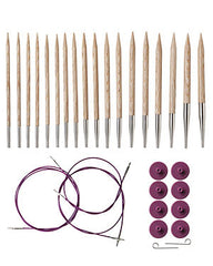 Knit Picks Options Sunstruck Wood Interchangeable Needle Set