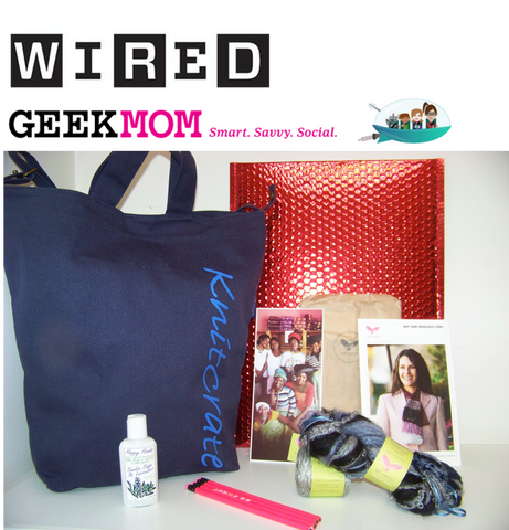 Wired.com Geek Mom KnitCrate subscription box review