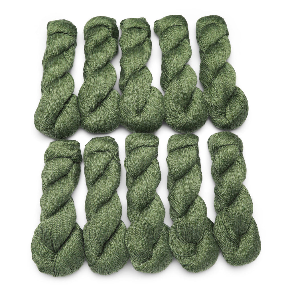 10 Pack of Audine Wools Calm in Matcha