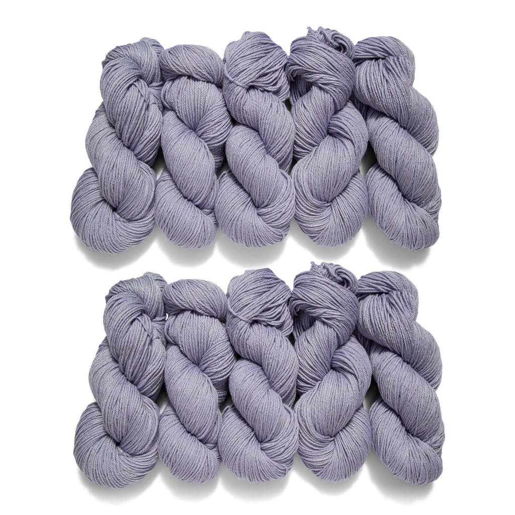10 Pack of Audine Wools Twinkle DK in Knit Yorker