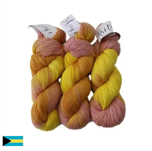 3-Pack of Knitologie Cozy Sock in Citrus Squeeze