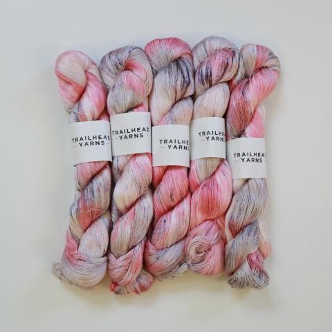 5- Pack Trailhead Yarns Cabot Trail in Bubbles - KNITCRATE