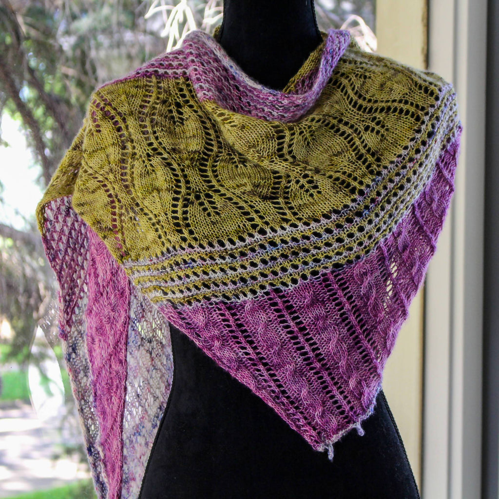 A Stitch in Time - Shawl & Cowl - KNITCRATE