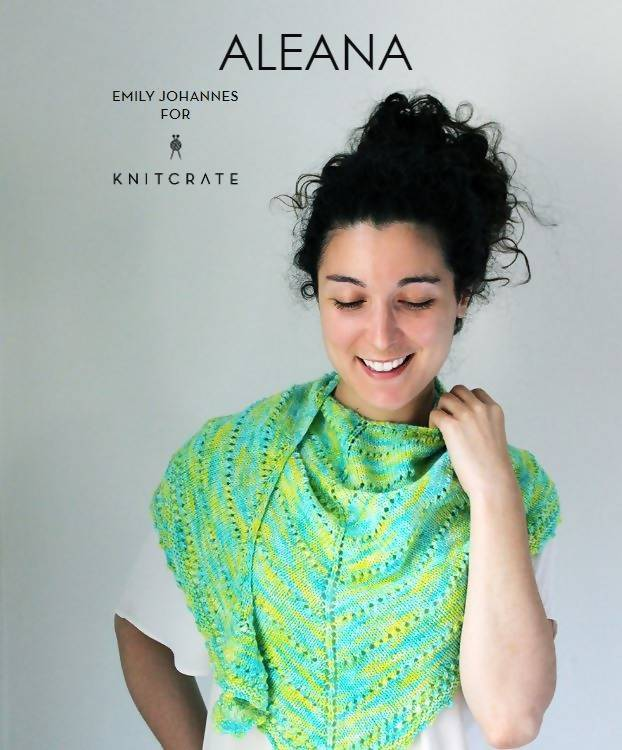 Aleana Shawl - KNITCRATE