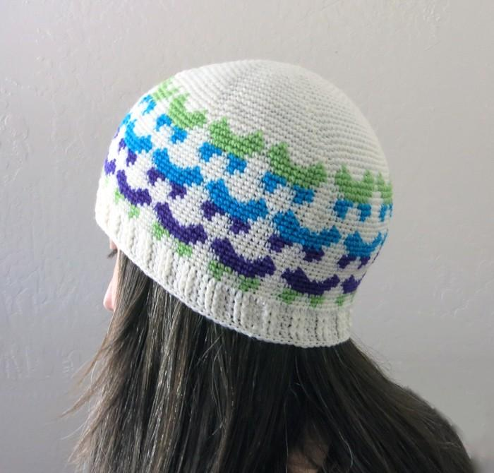 All Ages Butterfly Beanie Crochet Pattern - KNITCRATE
