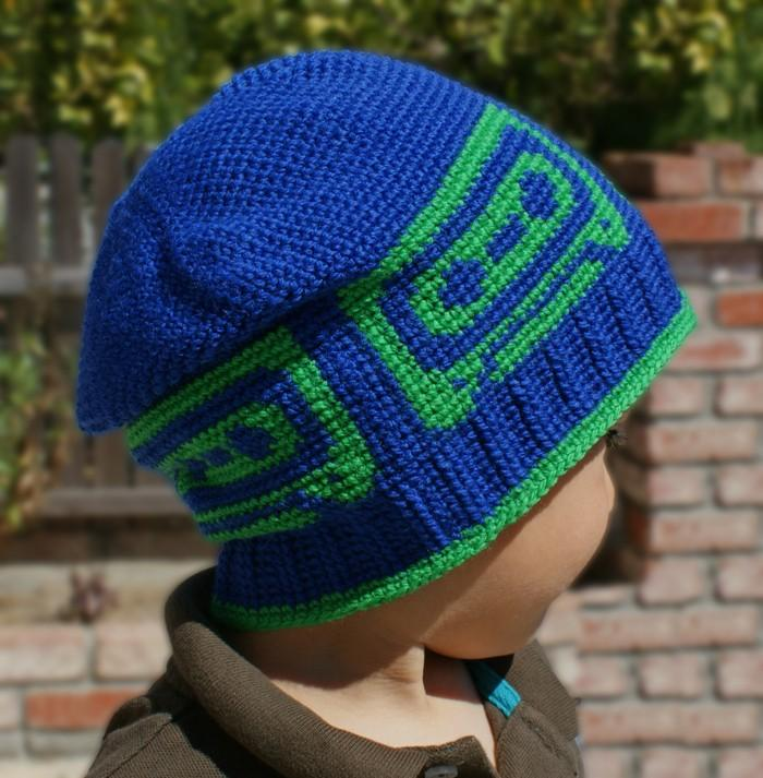 All Ages Mix Tape Beanie Crochet Pattern - KNITCRATE
