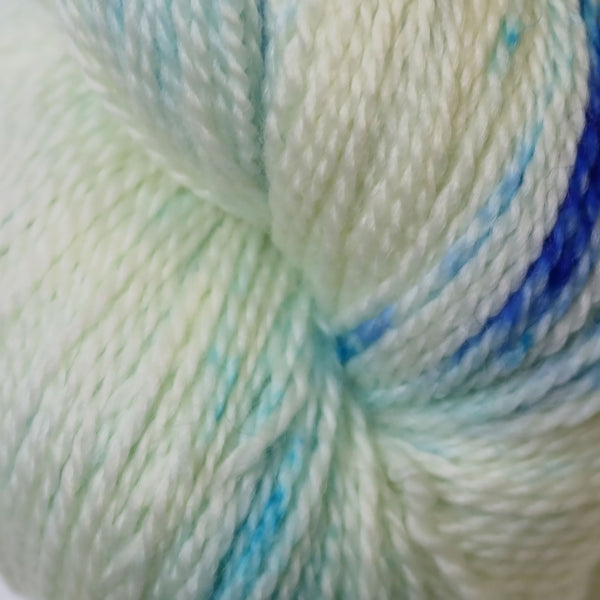 Apple Tree Knits Plush Fingering in Blue Curacao - KNITCRATE