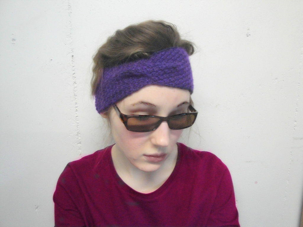 Basic Twist Headband - KNITCRATE