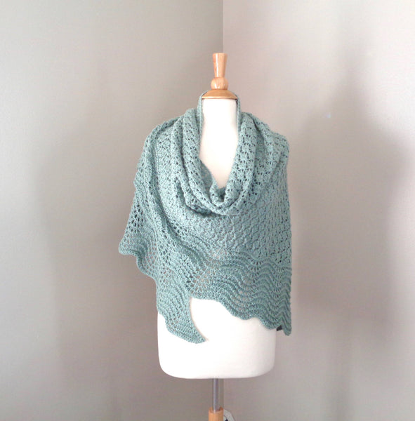 Basil Shawl - KNITCRATE