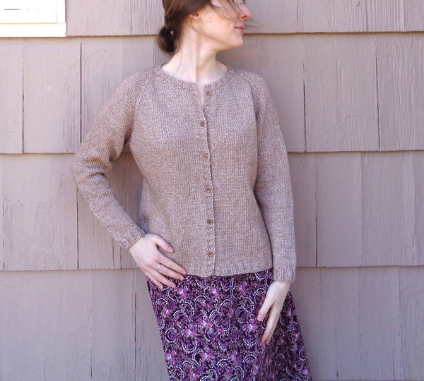 Blimah Cardigan - KNITCRATE