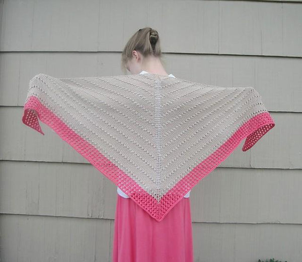 Breezy Shawl - KNITCRATE
