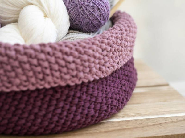 Bundled Basket Knit Pattern - KNITCRATE