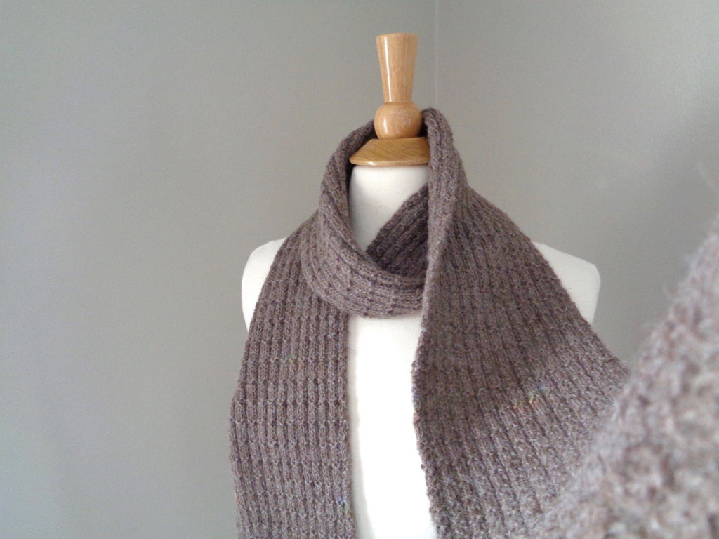 Buster Brown Scarf - KNITCRATE
