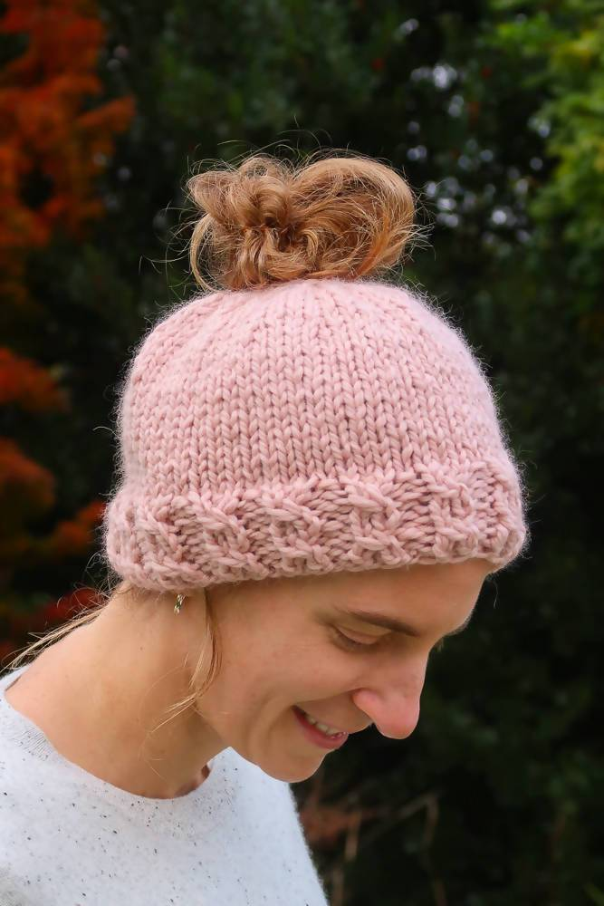 Cable Rib Hat