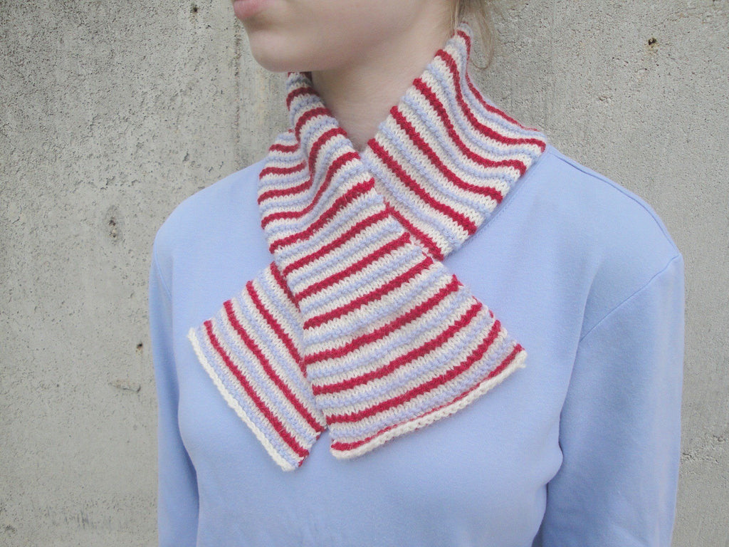 Candy Stripes Scarf - KNITCRATE