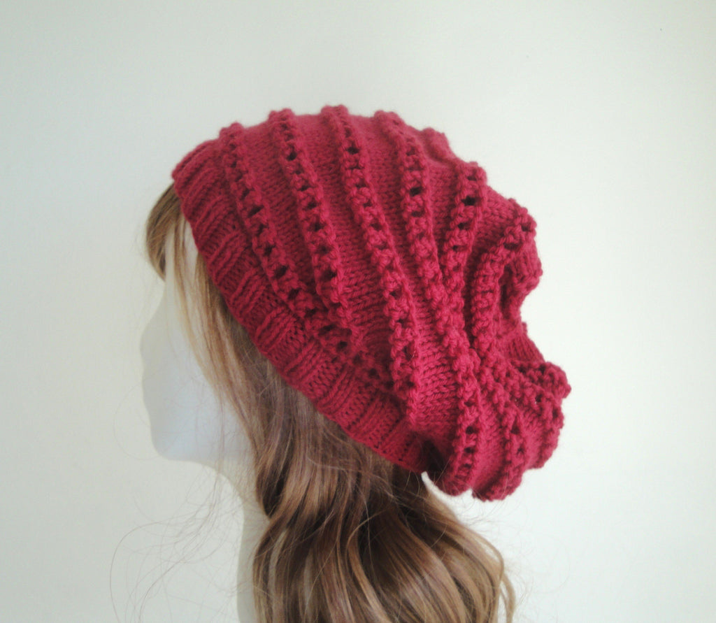 Carmin Slouch Hat - KNITCRATE