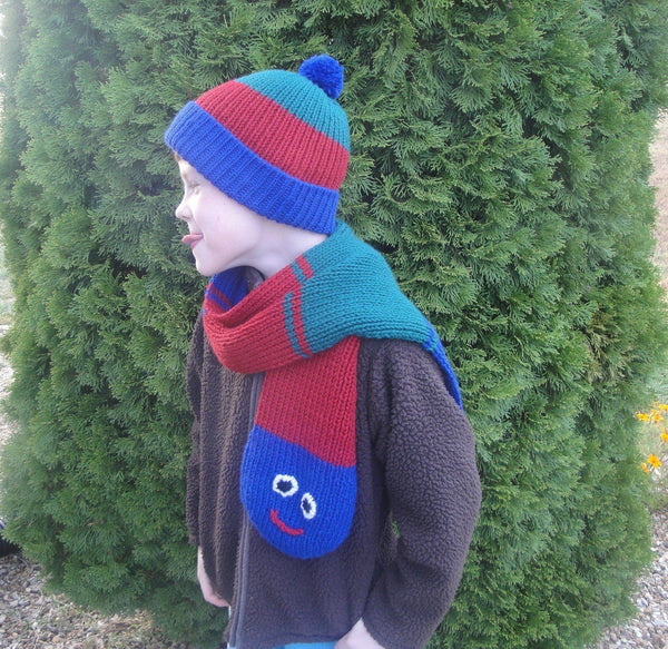 Caterpillar Hat & Scarf - KNITCRATE