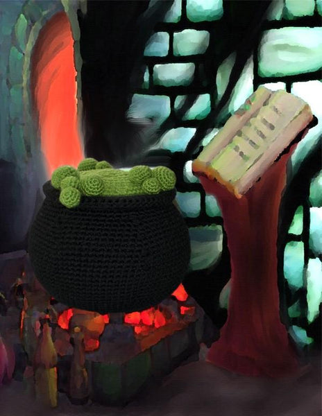 Cauldron Crochet Pattern - KNITCRATE