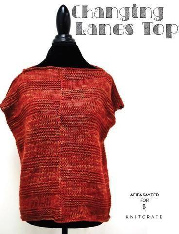 Changing Lanes Top - KNITCRATE
