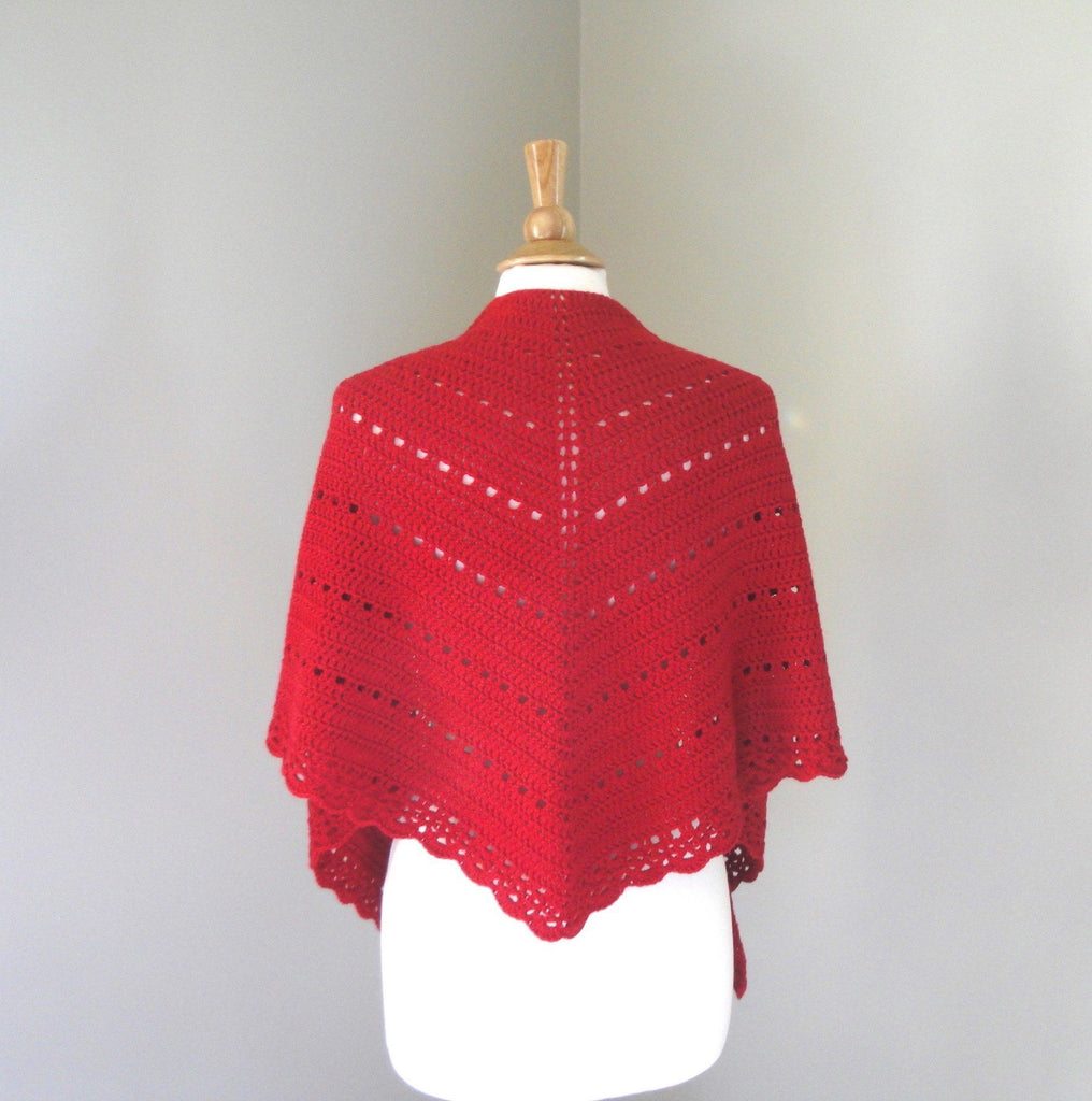 Cheery Shawl Crochet Pattern - KNITCRATE