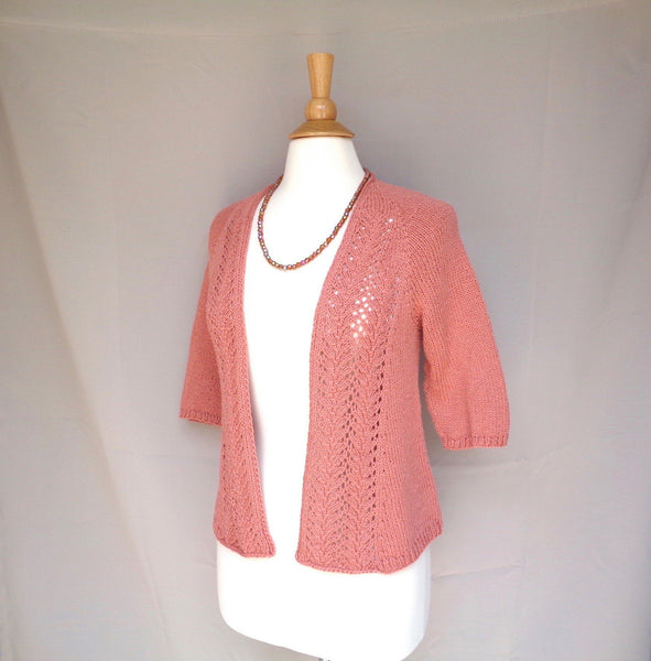 Coral Reef Cardigan - KNITCRATE
