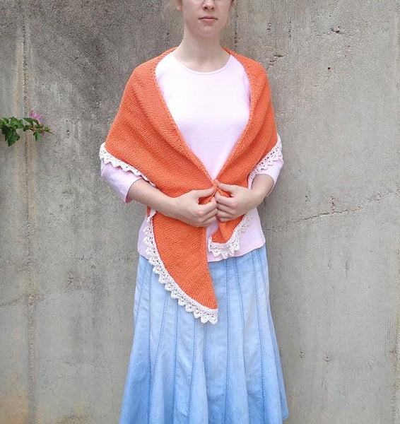 Creamsicle Shawl - KNITCRATE