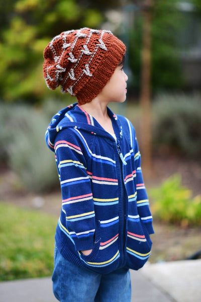 Crochet Birds of Feathers Slouch Beanie