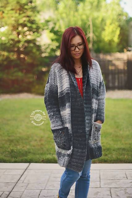 Crochet Granni Cardigan - KNITCRATE