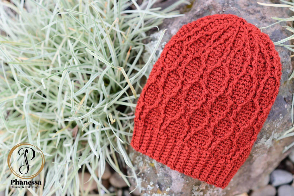 Crochet Honeycomb Slouch